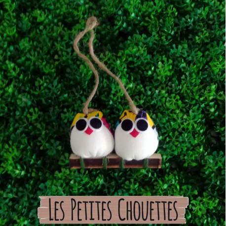 2 petites chouettes Coccinelle
