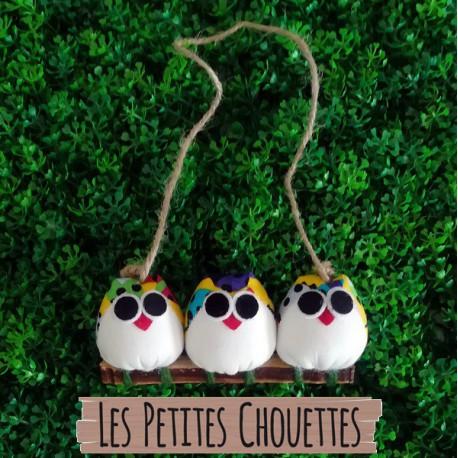 3 petites chouettes Coccinelle
