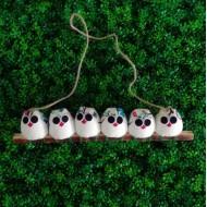unique et symbolique les 6 petites Chouettes