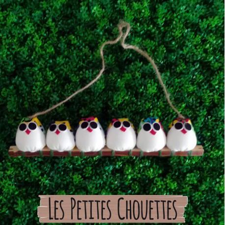6 petites chouettes coccinelle