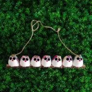 7 petites chouettes Fleur
