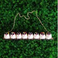 la chouette famille de 8 petites chouettes