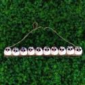 10 petites chouettes tissu Hibou 5cm