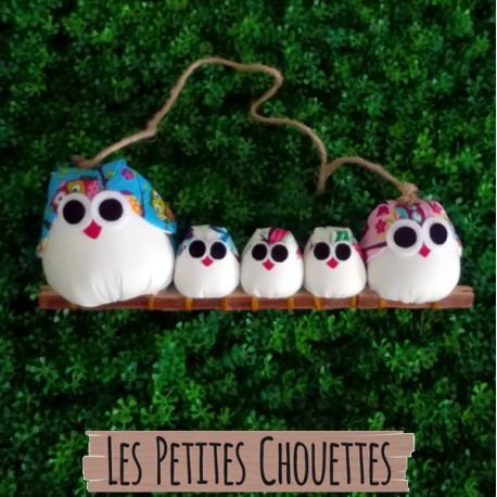 5 Chouettes Hibou