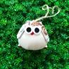 Chouette tissu chat blanc, idéal pour un chouette cadeau personnalisé