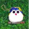 La chouette coccinelle bleu pour une jolie décoration de chambre d'enfant