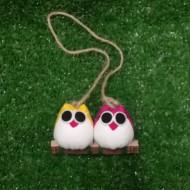 2 petites chouettes Marin